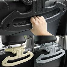 Универсальный автомобильный подголовник для сиденья, куртка, пальто, вешалка для одежды, держатель, внутренняя подставка для крепления, простая установка