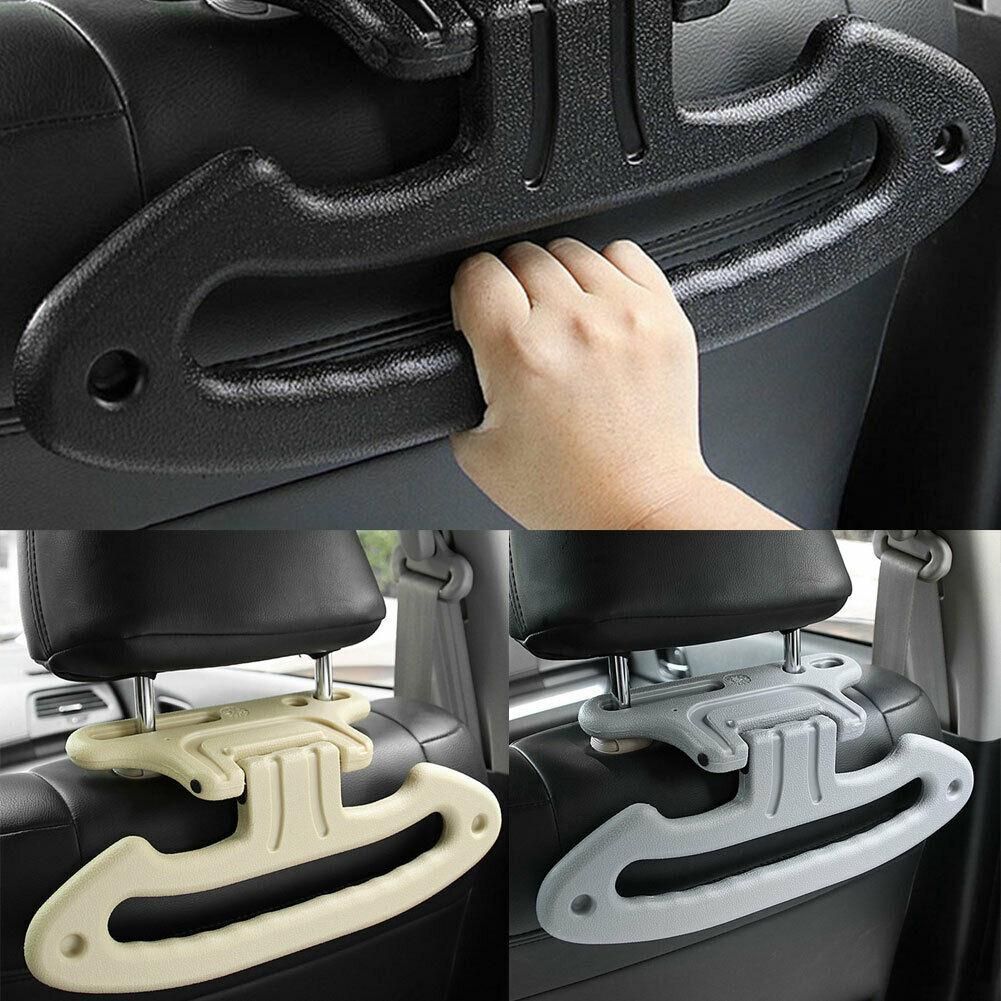 1*Car Seat Headrest Jacket Coat Suit Clothes Hanger Holder Gray Disassembly Long
