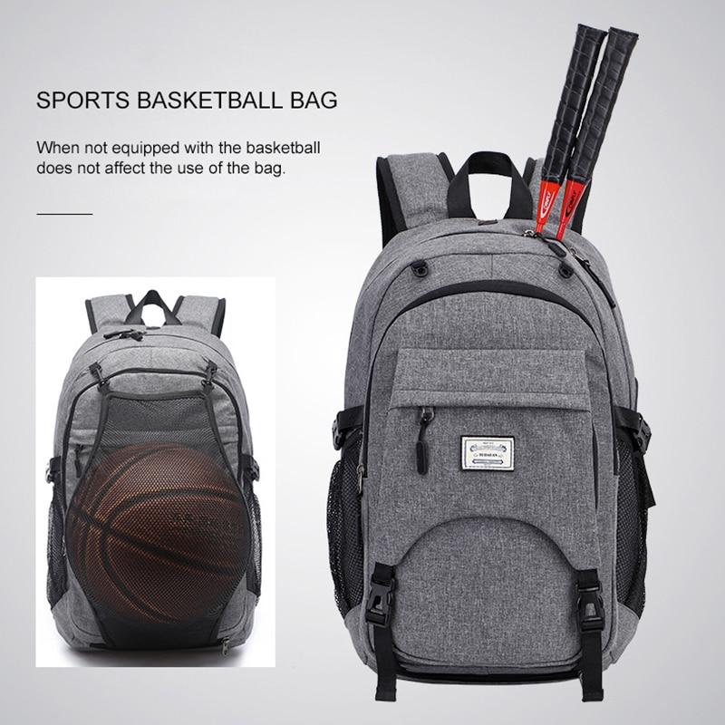 mens Backpack Student Basketballs Bags High Capacity Mens Backpacks Bags Can be USB Charging School Student Bag