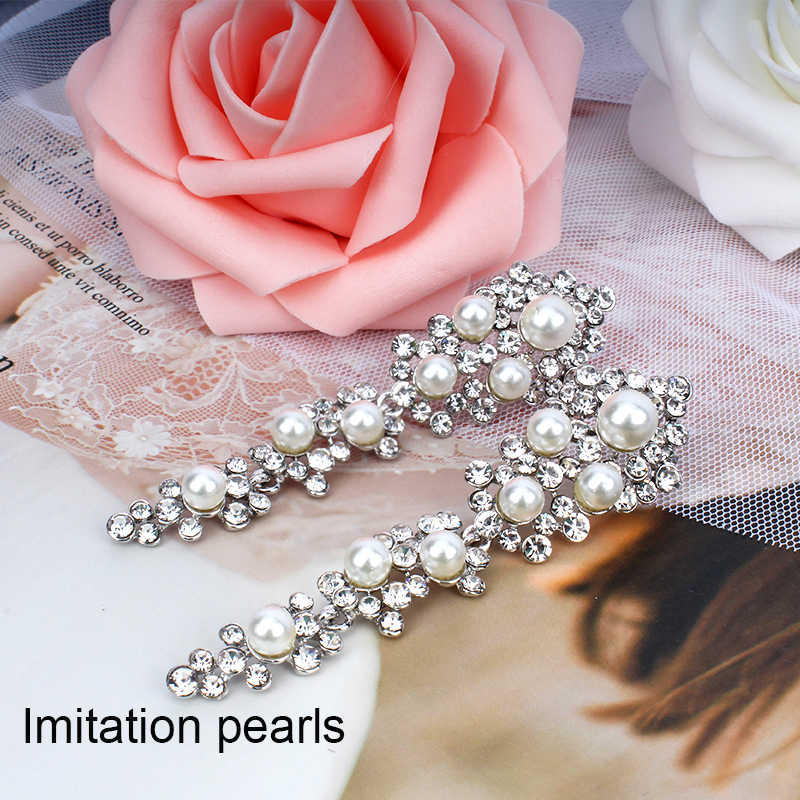 jiayijiaudoImitation pearl wedding long earrings noble women's wedding dress accessories gift earrings dropshipping