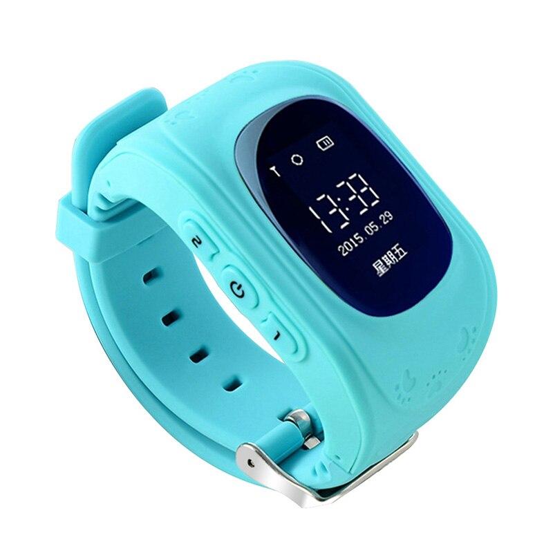 imágenes para Q50 Smartwatch Teléfono Inteligente Reloj Niños Niños Reloj de Pulsera con Pantalla OLED GPS Tracker Inteligente Acecha Anti-perdida de Dispositivos Portátiles