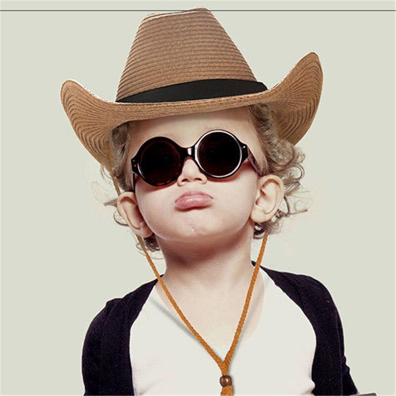 2018 Children Western Cowboy Hat Hand Made Beach Felt Sunhats Party Cap For  Man Woman Cowboy 3ed231f44a7