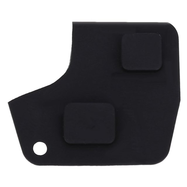 C90 Car Remote Key Holder Case Shell 2-button Rubber Pad for Toyota Easy to Install Protect Buttons From Excessive Wear