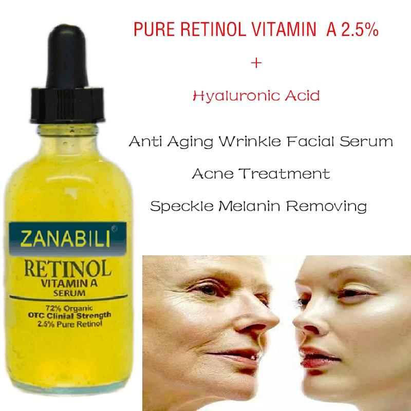 Murni Retinol Vitamin A 2.5% + 60% MATRIXYL 3000 ASAM HYALURONIC - Perawatan kulit - Foto 2