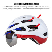 Bicycle Helmet Man Women  Cycling Helmet  Outdoor Helmets with Glasses   Mountain MTB Bike Helmets capacete ciclismo
