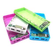 Power Bank 18650 Батареи Дело Box/DIY Мощность Напряжение Ток Дисплей Powerbank Зарядное Устройство для iphone 5s 6 6 s смартфон
