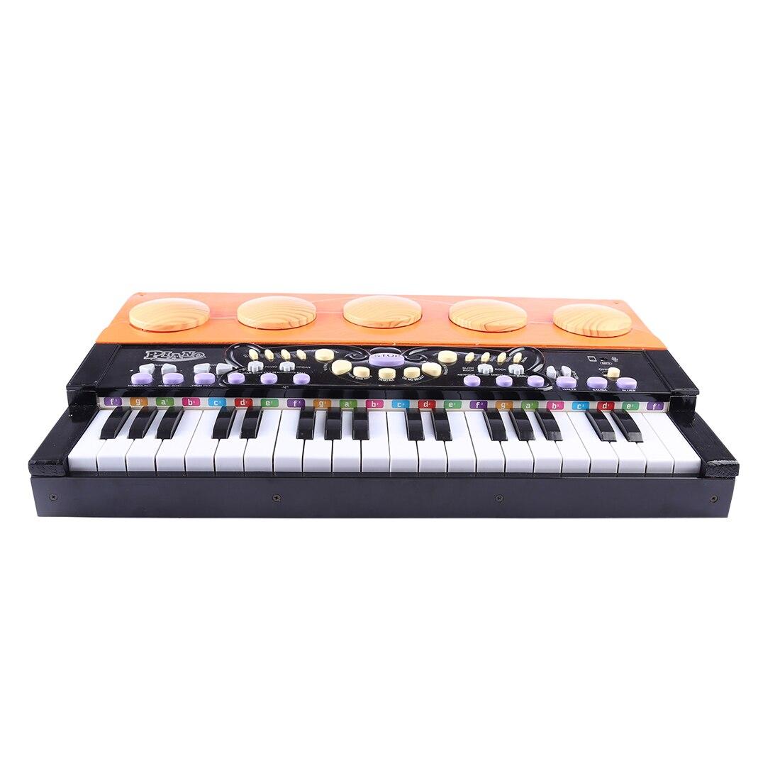 Nouveau chaud 37 clés jouet Instrument de musique Mini en bois Vertical Piano Grand Instrument de musique pour enfants éducation de la musique précoce