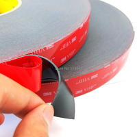 1Roll/Lot 3M VHB 5952 Heavy Duty Double Sided Adhesive Acrylic Foam Tape Black 25MMx33Mx1.1MM