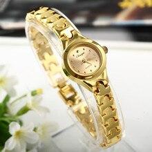 Christmas Gift watch! Fashion Quartz Dial Casual Wristwatch Women Alloy Bracelet Watch Hour Hot Sale Reloj Drop Shipping