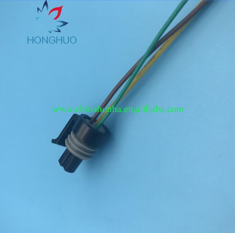 black LS1 3 Wire Coolant Temperature Temp Sensor Repair Wiring ...