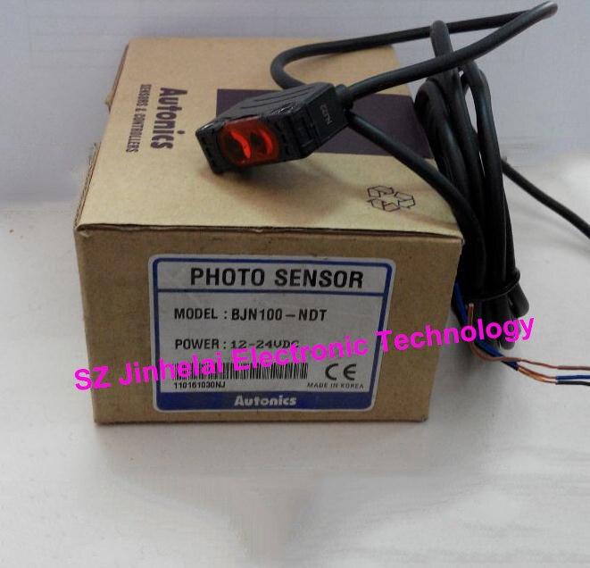лучшая цена 100% New and original BJN100-NDT, BJN100-NDT-P Autonics PHOTO SENSOR 12-24VDC