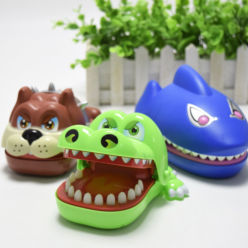 Rosiky Large Crocodile Jokes Mouth Dentist bite finger game Interactive Board Game Shark Antistress Gift for Child Family Prank