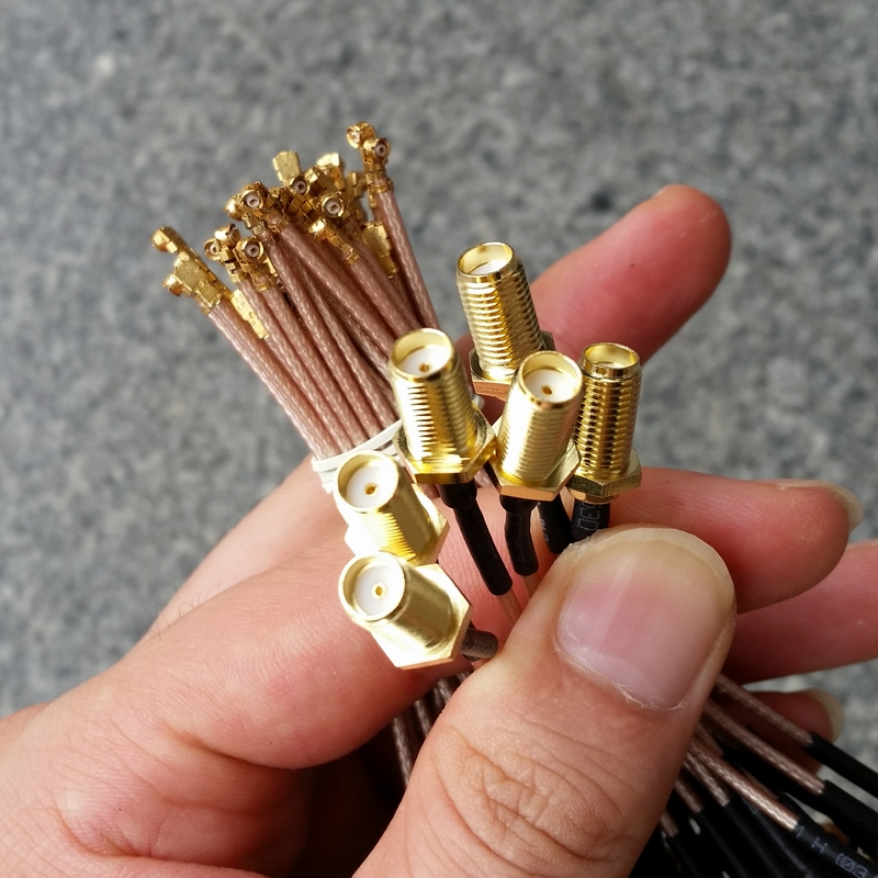 10cm RG178 Cable SMA Female To IPX U.FL Coax Pigtail Adapter Plug Jack Adapter RG-178 Wire Connector  10pcs sale 50cm rg174 cable mmcx male plug right angle to sma female jack coax pigtail 20in high quality wire connector adapter