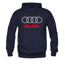 Hooded Sweatshirt With Audi Logo (4 Colors)