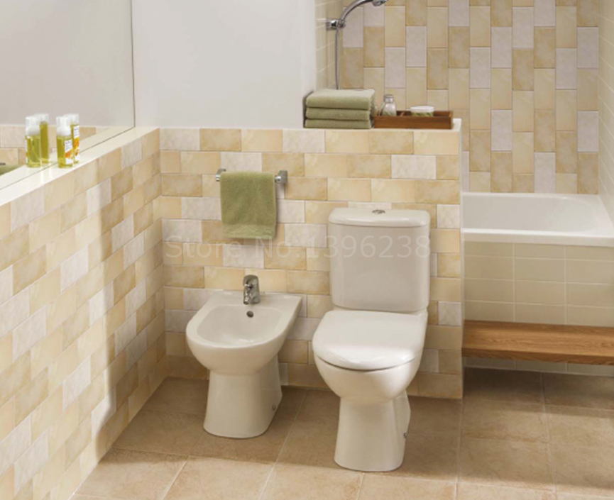 Beige mosaico in ceramica backsplash cucina bathroom wall subway