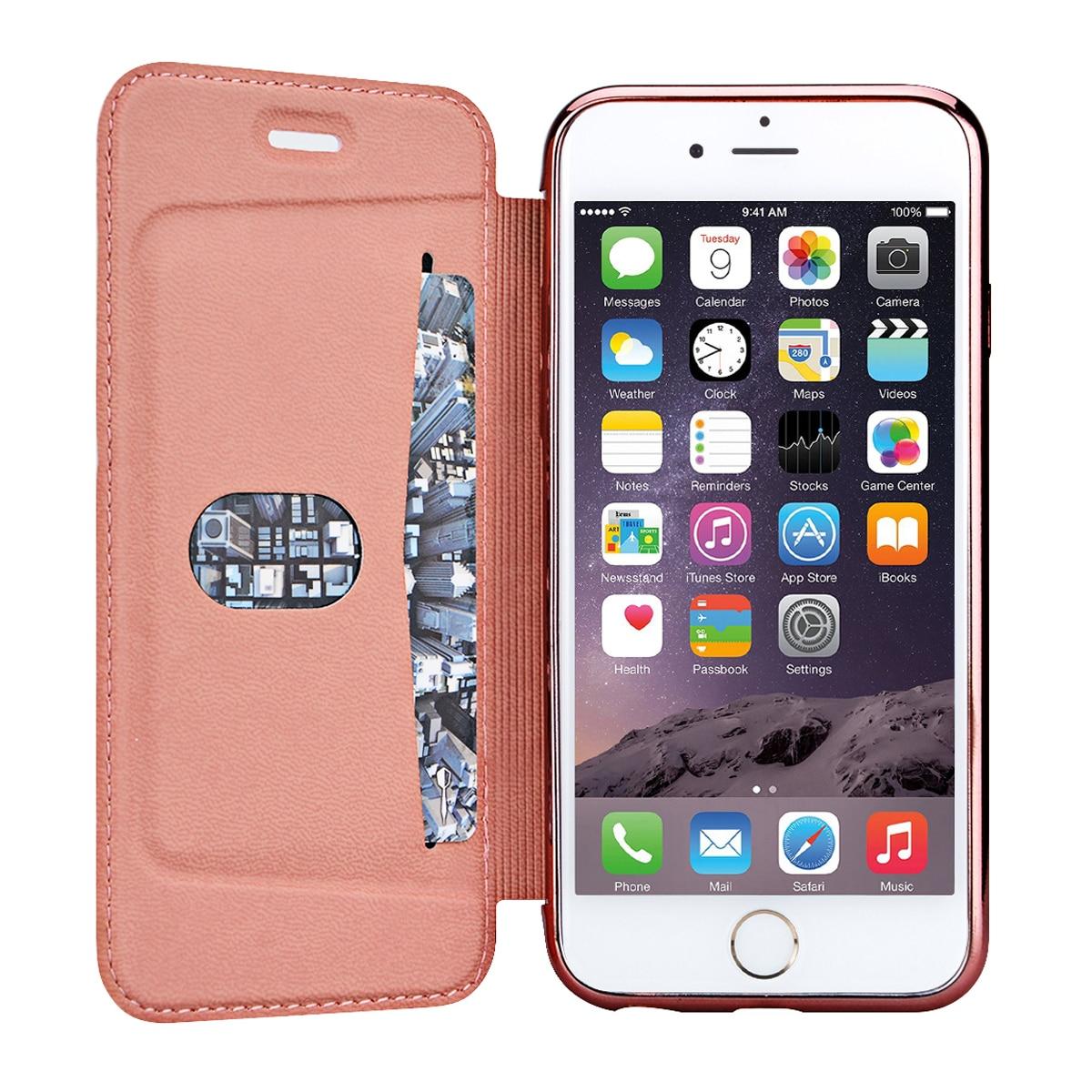 Funda de cuero PU de lujo para iPhone 5 5s SE 6 6s 7 Plus Funda para - Accesorios y repuestos para celulares - foto 2