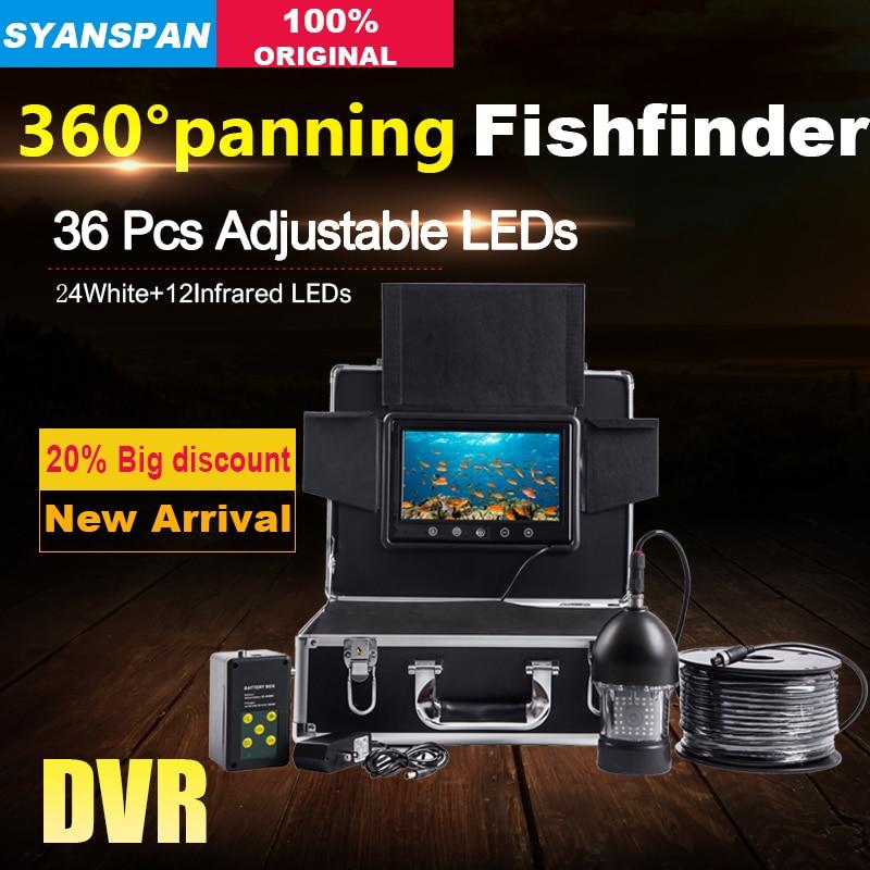 цена на SYANSPAN Waterproof 20M DVR Fish Finder 7