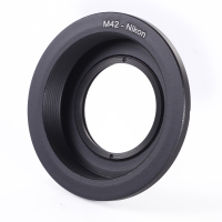 M42 Screw Lens For Model F Mount Camera Adapter Ring With Glass Focus For D810 D750