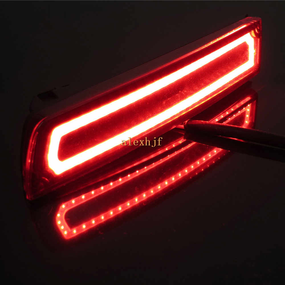 varthion led light guide brake lights case for infiniti fx37 2014 fx35 2009 12  [ 1000 x 1000 Pixel ]