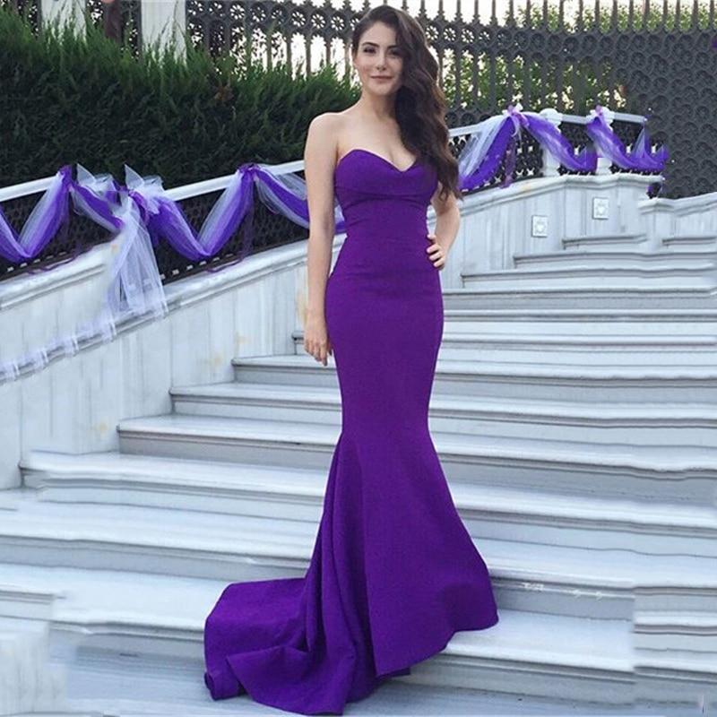 Aliexpress.com : Buy ZB216 Purple Bridesmaid Dresses Long 2017 Royal ...