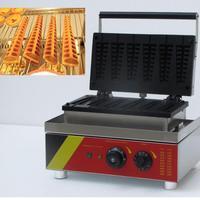 NP 503 Free shipping 220v 110v 6 PCS Lolly Waffle Maker Waffle Stick Hotdog Waffle Machine
