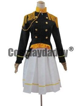 Axis Powers Hetalia Cosplay Costume Japan Female Uniform