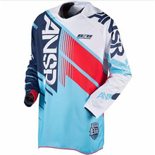 40e833922 Men Riding Tops Cycling Team Moto Jersey MX MTB Off Road Mountain Bike DH  Bicycle Jersey DH BMX Motocross Jerseys Cycling Jersey