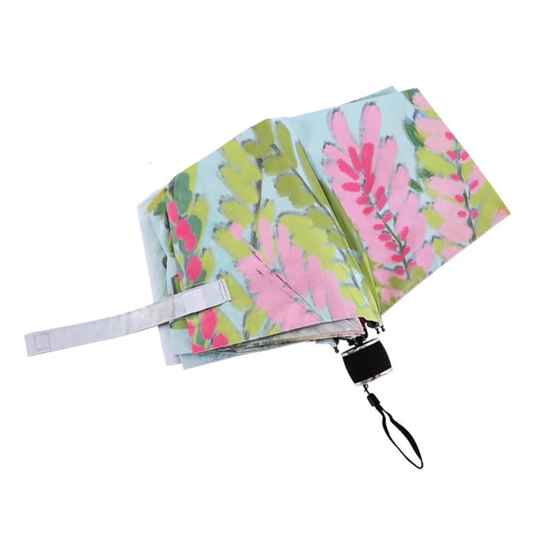 Svježe Ilustracija Drvni list Kišica Lady Kišni suncobran 3 - Kućanski robe - Foto 4