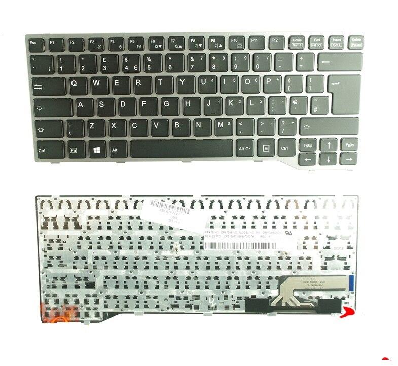 SSEA Laptop New UK Keyboard For Fujistu E744 E733 E734 E743 E544