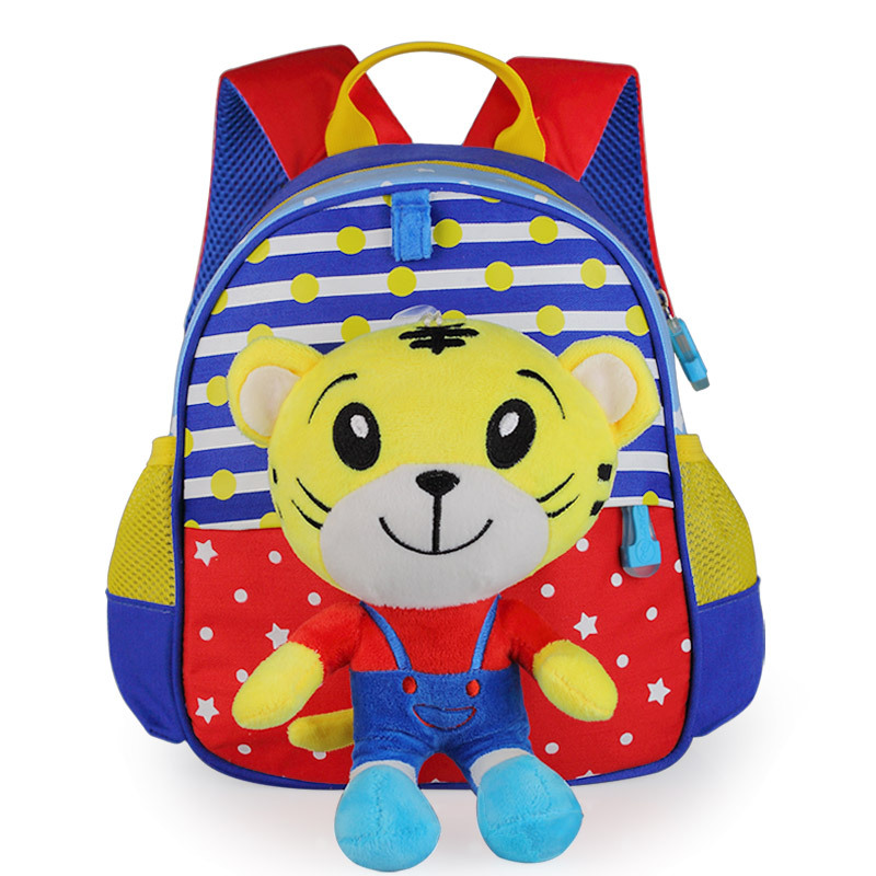 Kindergarten children s schoolbags Nylon font b backpack b font boys gilrs 1 2 3 4