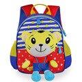 Los niños de Kindergarten mochilas de Nylon mochila niños gilrs 1-2-3-4-5-6 años bebé lindo de los niños Bolsos de Escuela de La Raya de la Muñeca Desmontable