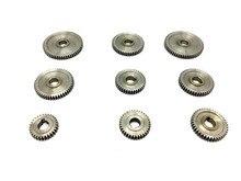 Free Shipping 9pcs in 1 SIEG CJ0618 household small lathe micro gear  metal exchange