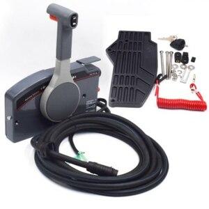 Подвесной пульт дистанционного управления 10Pin кабель правый 703 боковая нажимная дроссельная заслонка для Yamaha