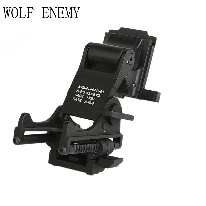 Military Airsoft Tactical Helmet Mount Helmet NVG Mount For Night Vision Goggle PVS14 PVS7