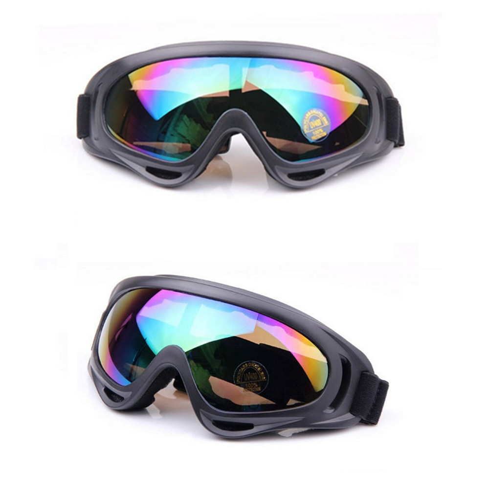 Men Women Skiing Goggles for Winter Snowboarding Snowmobile Sled Sunglasses Cycling Googles Motorcyle Windproof AIRSOFT Goggles