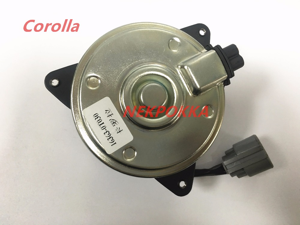 Automotive air conditioning Fan motor for Corolla,OEM NO:<font><b>16363</b></font>-0T030.Corolla fan image