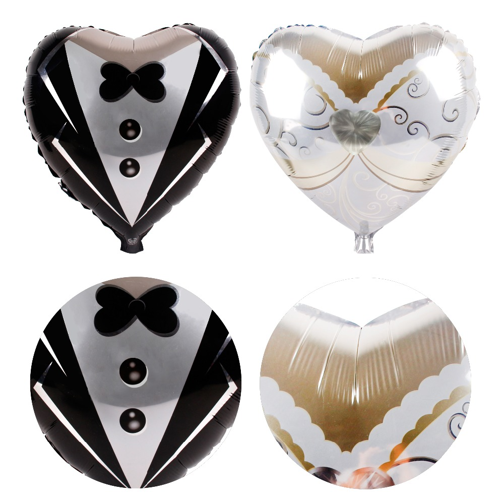 FENGRISE Cute Bride Groom Balloon Engagement Party Decorations Bridal Party Decoration Wedding Decoration Table Valentine 39 s Day in Party DIY Decorations from Home amp Garden