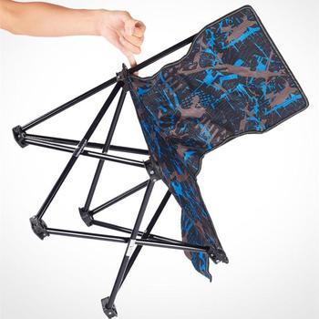 HobbyLane na świeżym powietrzu krzesło składane lampka przenośna waga tkanina Oxford na wędkarstwo piknik Camping rysunek tanie i dobre opinie
