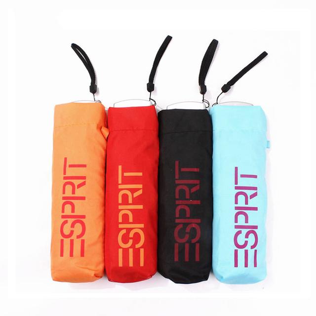 New Creative Folding Umbrella Men Wholesale 165g Super Light Small Foldable Pockets Umbrellas Rain Women Kids Paraguas