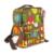 Saco de algodão de alta Qualidade bebê mochila mochilas Sacos de Fraldas Mummy Fralda bolsa maternidade pacote pai-filho para carrinho de bebé
