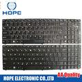 Nuevo teclado del ordenador portátil para asus x53 x54h a53 a53e x53s k53sc p53 k52n g51v n61 ee. uu. teclado
