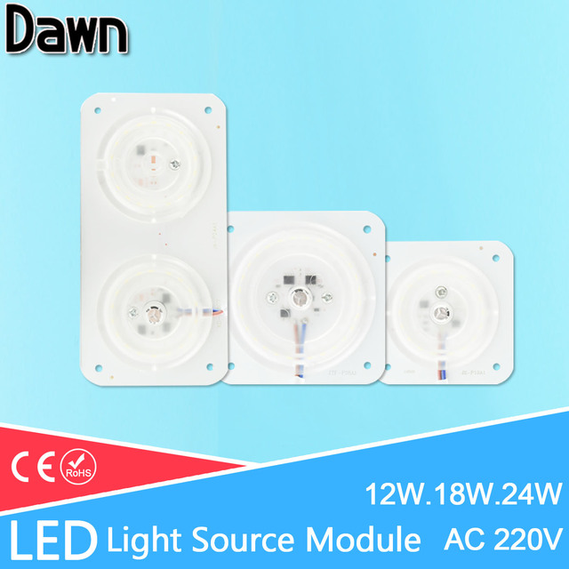 Mini Led Module Magnet Easy Install 220V 12W 18W 24W Light Board ...