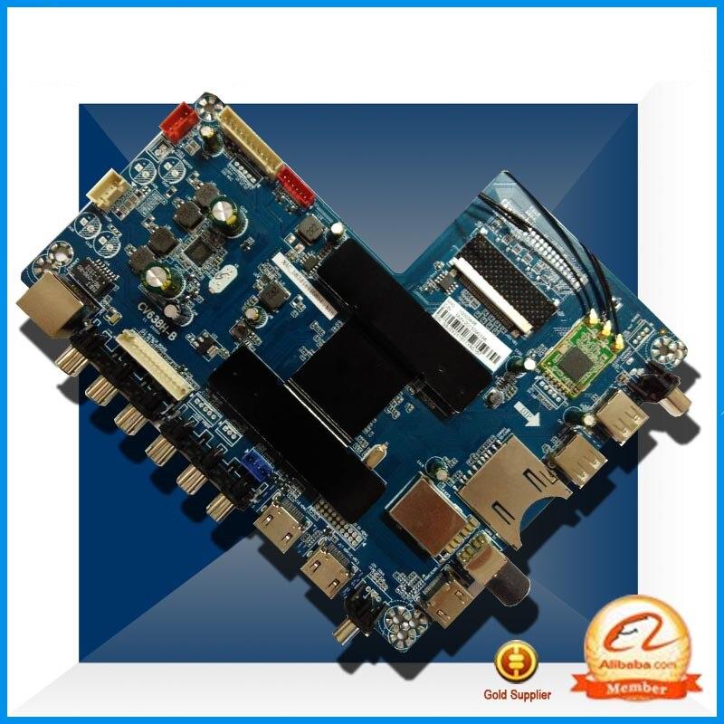 Intelligent Network 4K LCD TV Driver Board CV638H-B Andrews System 4K Screen Dedicated 60hz