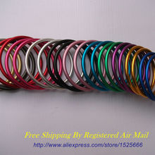 Free Shipping 10pcs 5pairs 3 Large Size Easy Adjustment Aluminium Rings for Slings