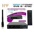 [Genuine] América do norte suporte ATSC combo DVB-S2 ATSC receptor de satélite Freesat V7 powervu biss cccam para o México Canadá EUA