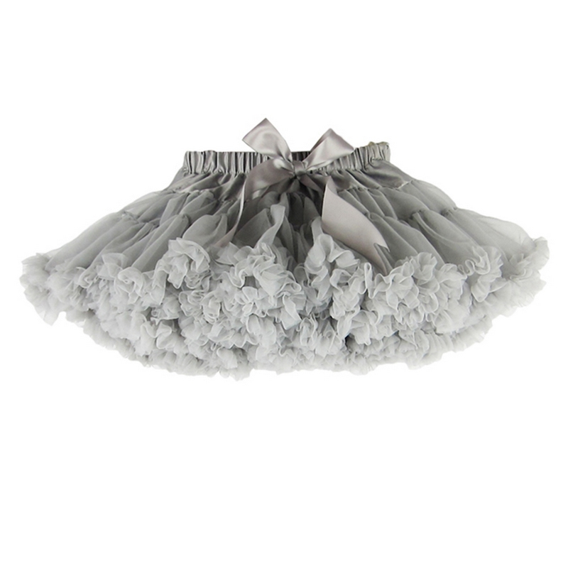 4c51f81c5 TTN Buenos Ninos Girls Fluffy Chiffon Pettiskirt Solid Colors tutu skirts  girl Dance Skirt Christmas Tulle Petticoat-in Skirts from Mother & Kids on  ...