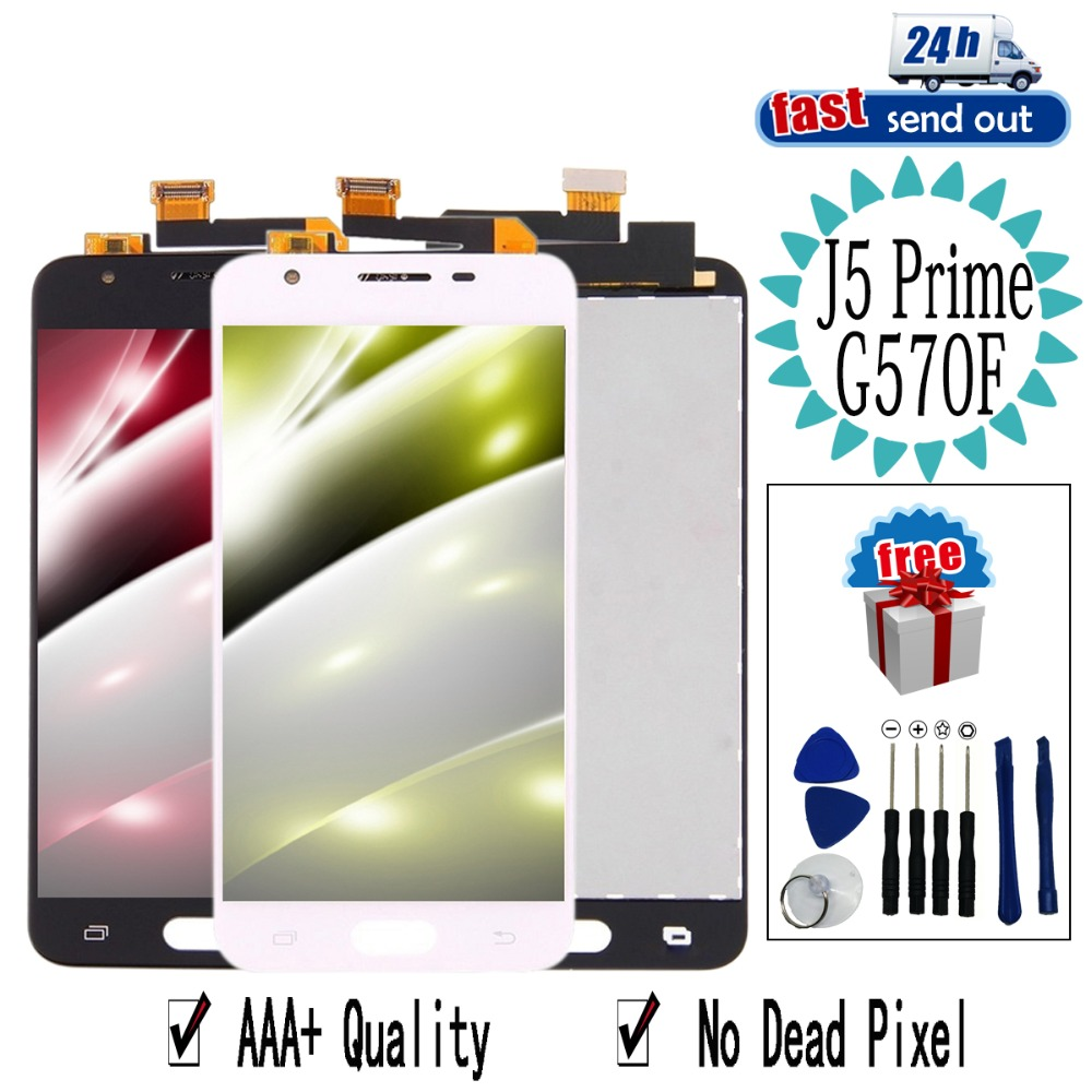 G570 LCD For Samsung Galaxy J5 Prime G570F LCD Display G570M G570Y G570 SM-G570F Touch Screen Tested Digitizer AssemblyG570 LCD For Samsung Galaxy J5 Prime G570F LCD Display G570M G570Y G570 SM-G570F Touch Screen Tested Digitizer Assembly