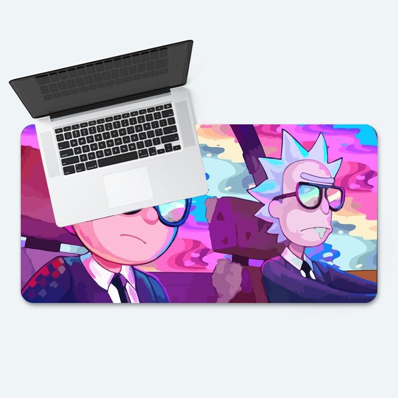 Игровой коврик для мыши Rick and Morty, большой игровой коврик для мыши CSGO Dota 2, игровой коврик для ноутбука