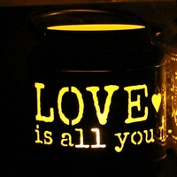 Retro Love Theme Metal Wall Hanging Votive Candle Holder Wedding Candlestick Hanging Lantern Home Wedding Decorative
