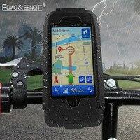 EDWO Wodoodporna Dla iphone 6 6 s 7 plus 5 5S SE nowy Rowerów Bike Kierownica Motocykla Armor Uchwyt Uchwyt Pokrywy Telefonu przypadku